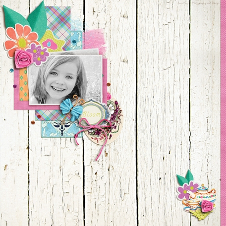 Bloom - Use it All Layout Challenge