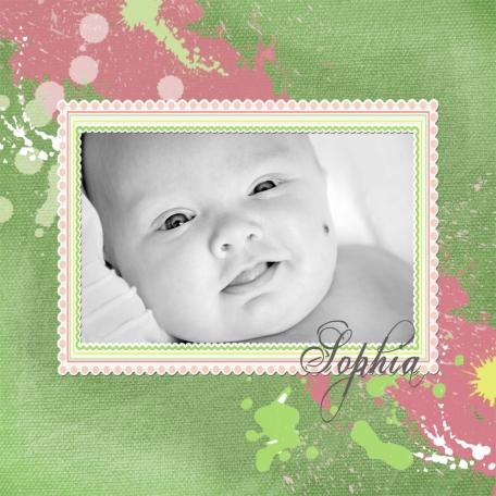 Sophia - Prematurity Awareness Month