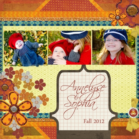 Annelyse and Sophia - Fall 2012