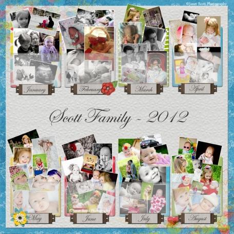 2012 Wrap-Up - Scott Family