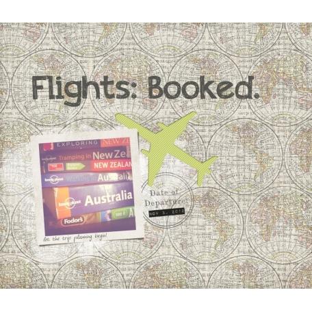 Flights: Booked.