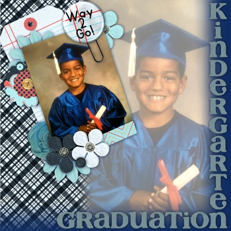 Elijah's Kindergarten Graduation Portrait