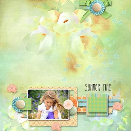 sweet Summer Layout 1