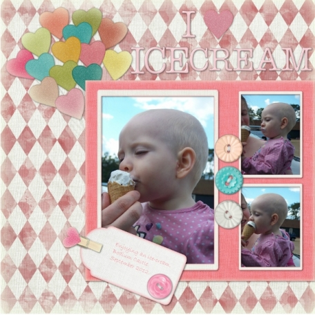 I love ice-cream
