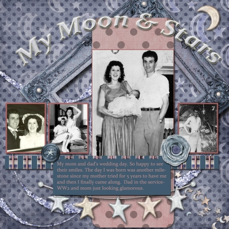Mom & Dad My moon & stars