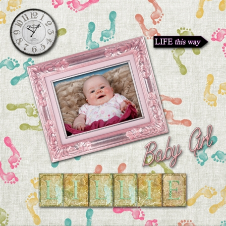 Bouncing Baby Girl-Time is on your side