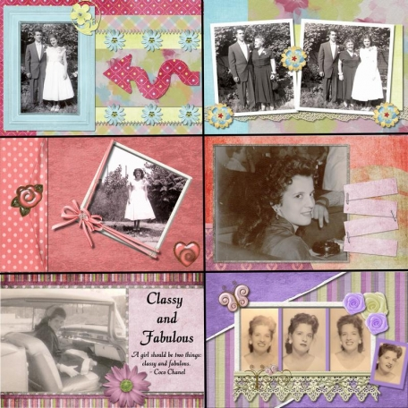 50th Anniversary Scrapbook for My Parents - Mom5