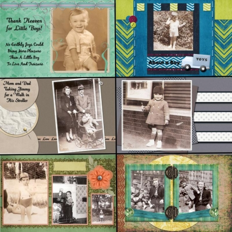 50th Anniversary Scrapbook for My Parents - Dad2