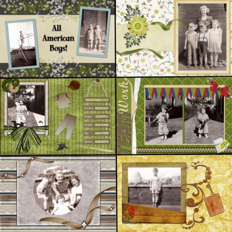 50th Anniversary Scrapbook for My Parents - Dad4