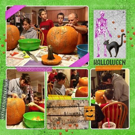 10-2012 Pumpkin Carving 01