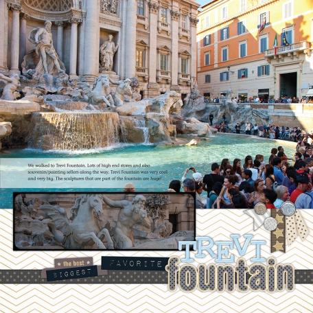 2011 Trevi Fountain - Rome, Italy