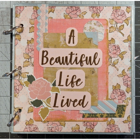 Mini Album: A Beautiful Life Lived