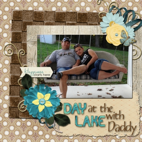 Day at the Lake with Daddy