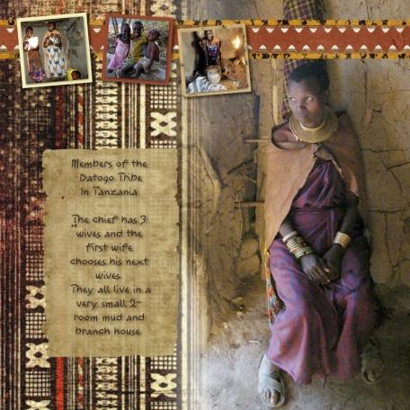 Big Photo challenge, Datogo Tribe