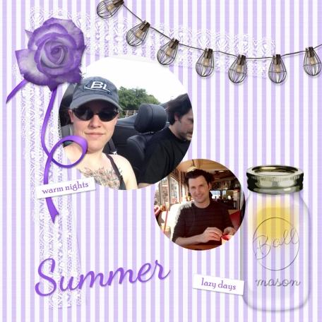 Seersucker Summer Layout