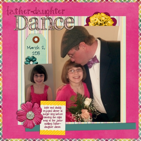 Father-Daughter Dance Page 1