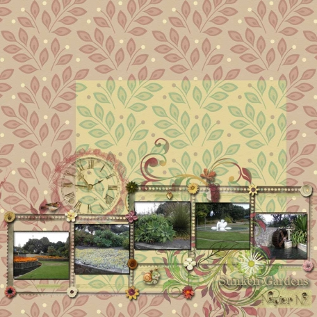Sunken Gardens - Napier