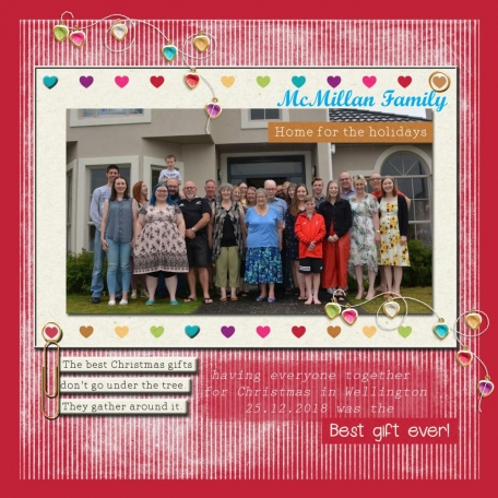McMillan Family home for Christmas 2018