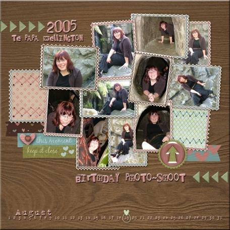Birthday Photo-shoot 2005