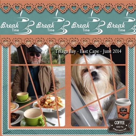 Tolaga Bay – Coffee break