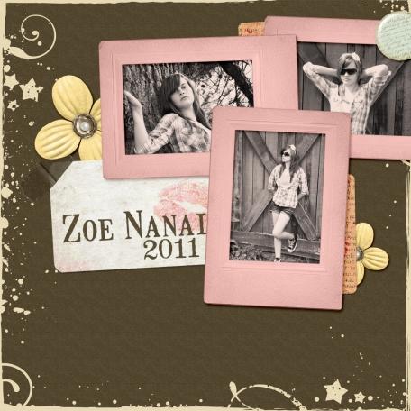 Zoe Nanai - Summer 2011