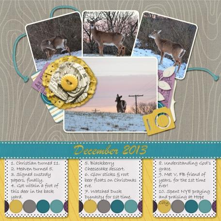 December 2013 Monthly