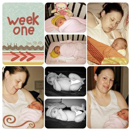 Ry's Baby Project Life: 02