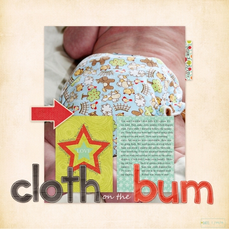Cloth on the Bum