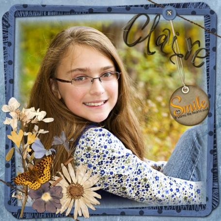 Claire age 10