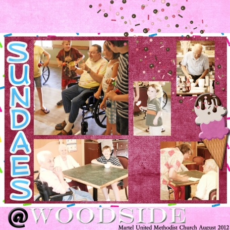 Sundaes at Woodside