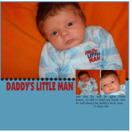 Daddy's Little Man