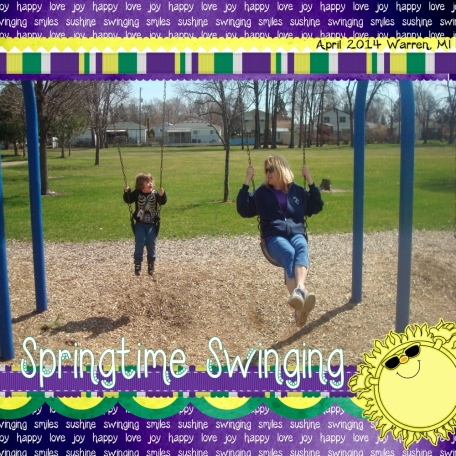 Springtime Swinging