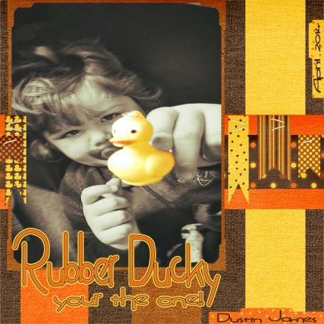 Rubber Ducky your the one!