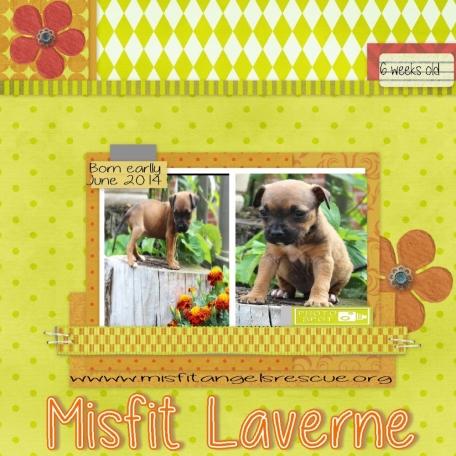 Misfit Laverne!