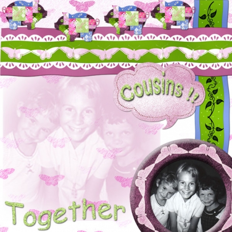Cousins ... together in time
