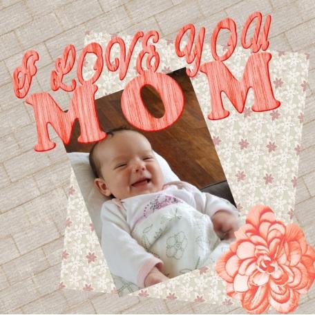 I Love you Mom, lucina