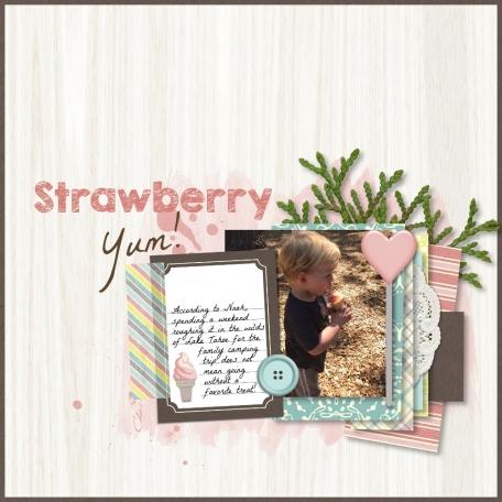 Strawberry Yum