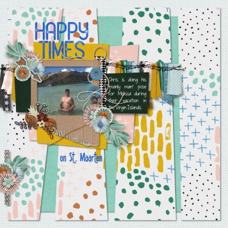 Happy Times on St. Maarten