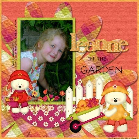 Garden Girl 1