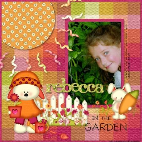 Garden Girl 2