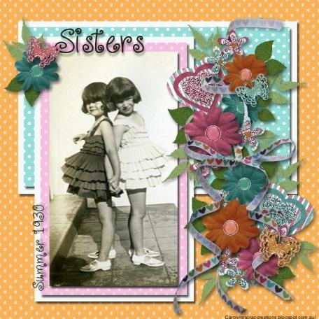 Sisters in Summer