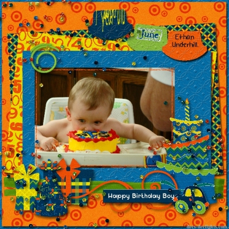 Ethan's 1st Birthday party