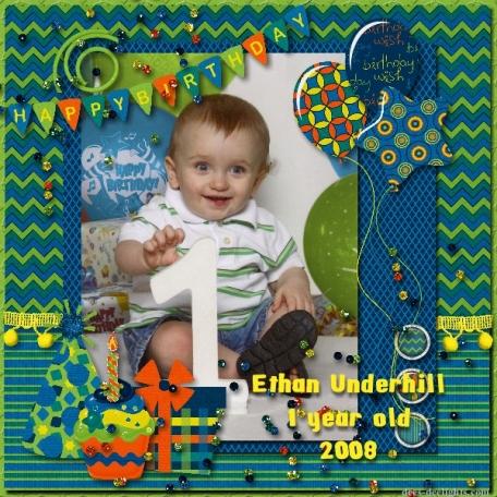 Ethan's 1st Birthday photo
