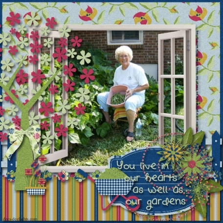 Mom In My Garden