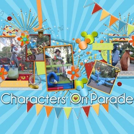 Disney's Animal Kingdom Parade