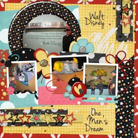 Walt Disney: One' Man's Dream