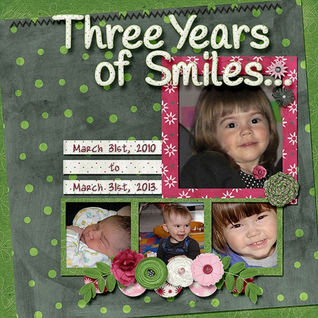 Three Years of Smiles...