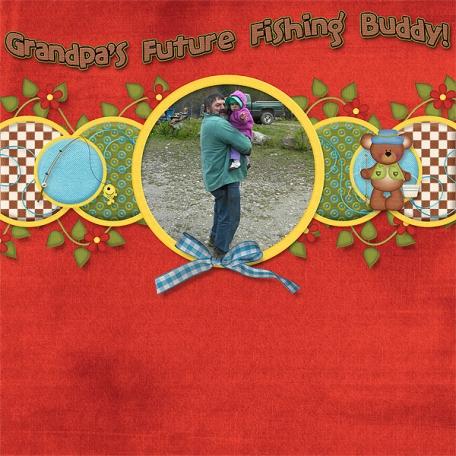 Grandpa's Future Fishing Buddy