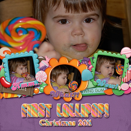 First Lollipop