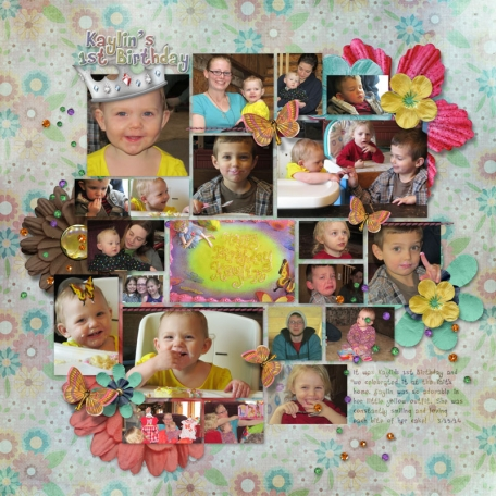 First Birthday - Fairies and Butterflies